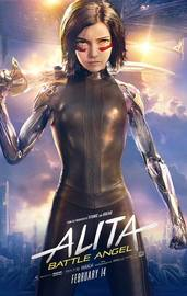 Alita: Battle Angel on Blu-ray, UHD Blu-ray