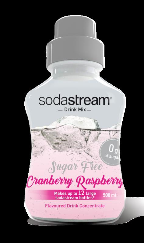 Soda Stream: Diet Cranberry Raspberry Syrup