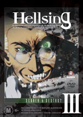 Hellsing - III on DVD