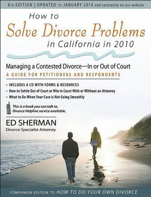 How to Solve Divorce Problems in California in 2010 by Ed Sherman image