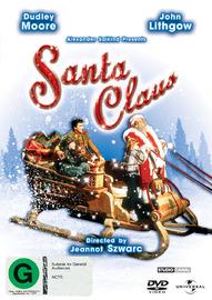 Santa Claus: The Movie on DVD