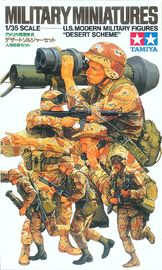 Tamiya U.S. Modern Army Infantry 1/35 Set - Desert Scheme