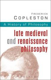 History of Philosophy: Vol 3 by Frederick C Copleston image