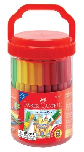 Faber-Castell : Connector Pens Bucket of 50 image