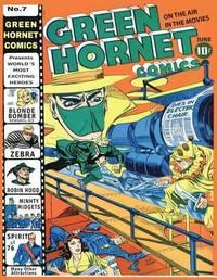 Green Hornet Comics #7 by Harvey Comics image