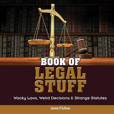 Book of Legal Stuff by Joanne O'Sullivan image