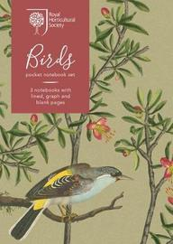 RHS Birds Pocket Notebook Set by Royal Horticultural Society