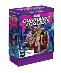 Guardians Of The Galaxy - Complete Season 2 (Collector's Edition) on DVD image