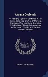 Arcana Ccelestia by Emanuel Swedenborg image