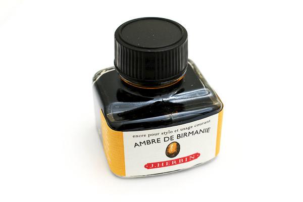J Herbin: Fountain Pen Ink - Ambre de Birmanie (30ml) image