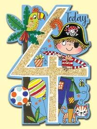 Rachel Ellen: Age 4 Pirate