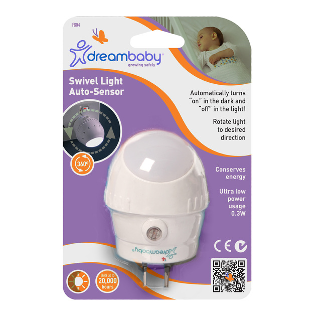 Dreambaby Auto-Sensor Swivel Light