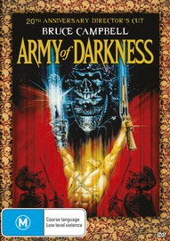 Bruce Campbell vs the Army of Darkness (20th Anniversary Director's Cut) on DVD