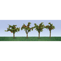 "JTT Apple Saplings 1 3/8"" (12pk) - H0 Scale"