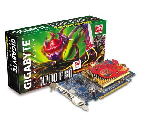 Gigabyte Graphics Card Radeon X700 Pro 128M PCIE image