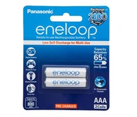 Panasonic Eneloop AAA 800mAh Rechargeable Batteries - 2 Pack