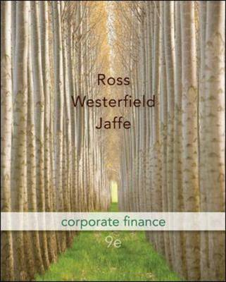 Corporate Finance with S&p Card + Connect Plus by Jaffe Jeffrey image