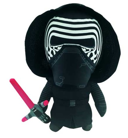 Star Wars The Force Awakens - Kylo Ren Medium Talking Plush