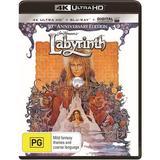 Labyrinth (4K UHD + Blu-ray + UV) DVD