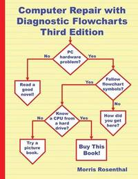 Computer Repair with Diagnostic Flowcharts Third Edition by Morris Rosenthal