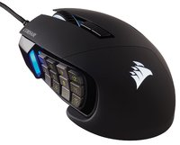 Corsair SCIMITAR PRO RGB MMO/MOBA Gaming Mouse - Black for PC Games