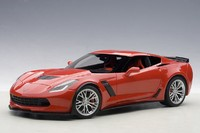 Autoart: 1/18 Chevrolet Corvette C7 Z06 (Torch Red) - Diecast Model
