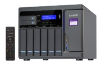 QNAP TVS-882-I3-8G NAS,6+2+2 X M.2 SLOT(DISKLESS),8GB,I3-6100,USB,GbE(4),HDMI,TWR, 2YR image