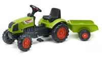 Falk: Claas Pedal Tractor - With Trailer