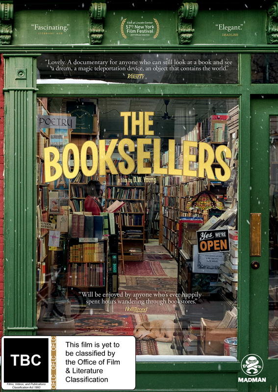 The Booksellers on DVD