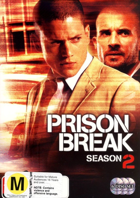 Prison Break - Complete Season 2 (6 Disc Set) on DVD