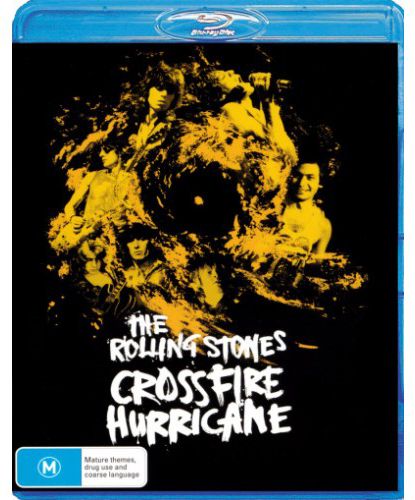 The Rolling Stones - Crossfire Hurricane on Blu-ray