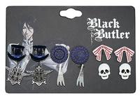 Black Butler: Stud Earring Set - 6-Pack