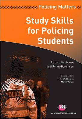 Study Skills for Policing Students by Richard Malthouse image