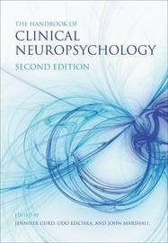 The Handbook of Clinical Neuropsychology by John Marshall image