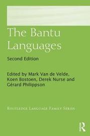 The Bantu Languages image