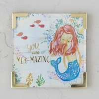 Natural Life: Corner Magnet - You Are Mer-Mazing