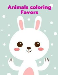 Animals Coloring Favors by Harry Blackice