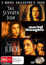 Seventh Sign / Mortal Thoughts / Juror - 3 Movie Collector's Pack (3 Disc Set) on DVD