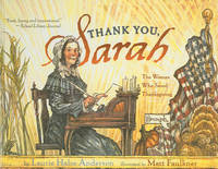 Thank You, Sarah! by Laurie Halse Anderson