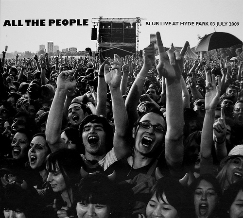 All the people - Blur Live In Hyde Park 03/07/200 by Blur image