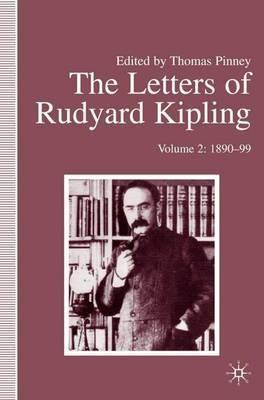 The Letters of Rudyard Kipling by R Kipling