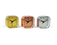 On Time - Metallic Alarm Clock (Assorted)