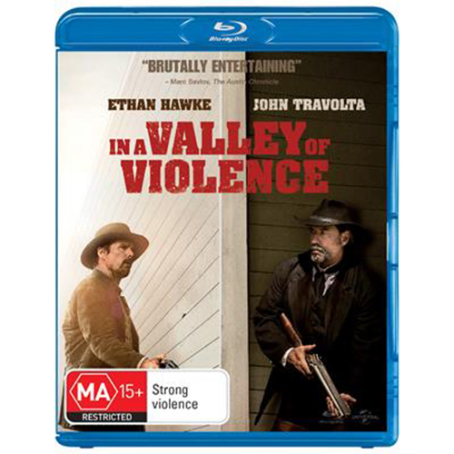 In A Valley Of Violence on Blu-ray