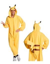 Pokemon: Pikachu Onesie Costume - Standard