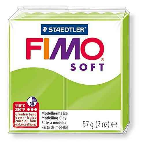 Staedtler Fimo Soft Modelling Clay Block - Apple Green (56g)