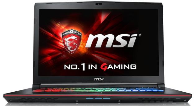 "MSI GE72VR 7RF 17.3"" Gaming Laptop Intel Core i7-7700HQ, 8GB RAM, GTX 1060 3GB"