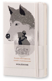 Moleskine Pocket Hard Cover Limited Edition Game of Thrones Notebook - White