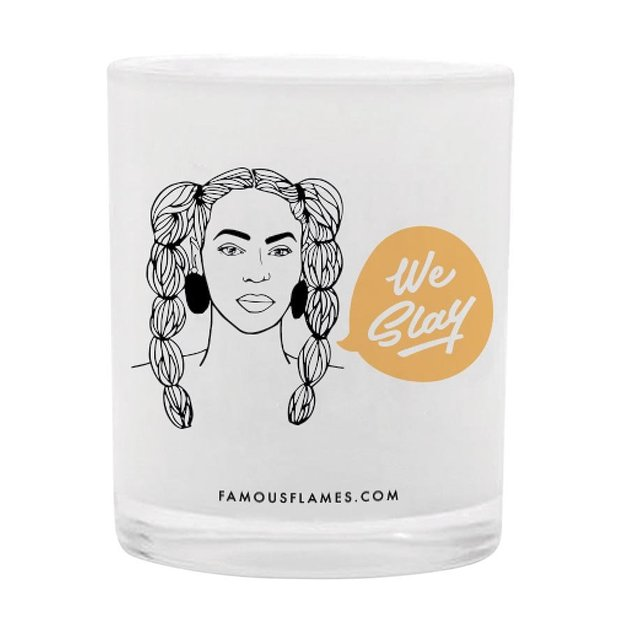 Famous Flames Candle - Queen-B