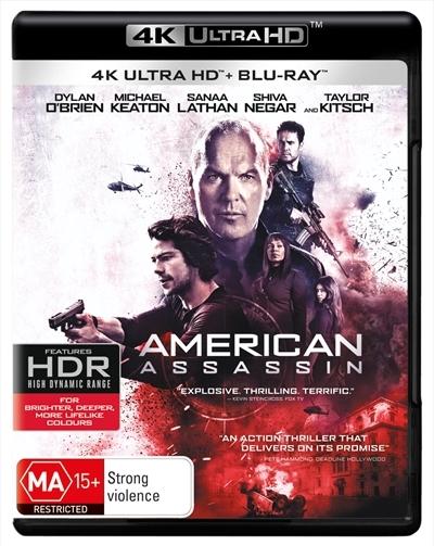 American Assassin (4K Blu-ray + Blu-ray) on UHD Blu-ray