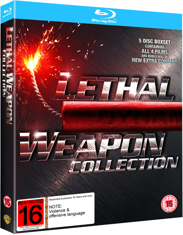 Lethal Weapon - The Complete Collection on Blu-ray